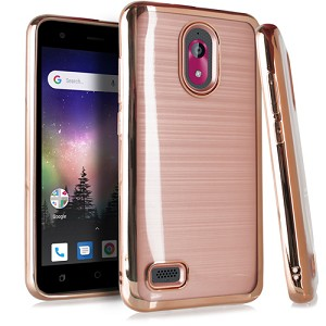 (EM) COOLPAD ILLUMINA / LEGACY GO CRYSTAL BRUSHED CHROME - ROSE GOLD