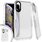 (E01) IPHONE X/XS SIDESPINE CASE - WHITE (RETAIL PACKED)