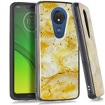 (E01) MOTO G7 PLAY FLAKE MARBLE - ROSE GOLD
