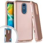 (E01) LG STYLO 4 / 4 PLUS SLIM ARMOR - ROSE GOLD (RETAIL PACKED)