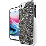 (E01) IPHONE 6/6S ONYX CRYSTAL - SILVER/GRAY