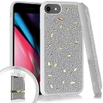 (E01) IPHONE 6/6S ONYX POPROCKS - SILVER