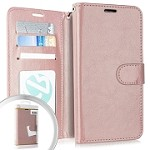 (E01) IPHONE 6/6S WALLET POUCH 3 - ROSE GOLD (RETAIL PACKED)
