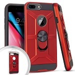 (3E) IPHONE 7 PLUS / 8 PLUS MAGNET RING STAND 2 - RED