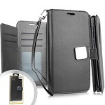 (E01) COOLPAD LEGACY DELUXE WALLET - BLACK (RETAIL PACKED)