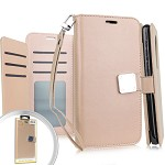 (E01) COOLPAD LEGACY DELUXE WALLET - ROSE GOLD (RETAIL PACKED)