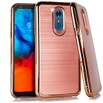(E01) COOLPAD LEGACY CRYSTAL BRUSHED CHROME - ROSE GOLD