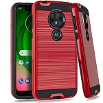 (E01) MOTO G7 PLAY BRUSHED METAL - RED