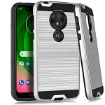 (E01) MOTO G7 PLAY BRUSHED METAL - SILVER