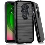 (E01) MOTO G7 PLAY BRUSHED METAL 3 - BLACK