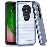 (E01) MOTO G7 PLAY BRUSHED METAL 3 - BLUE