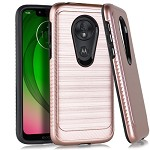 (E01) MOTO G7 PLAY BRUSHED METAL 3 - ROSE GOLD