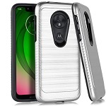(E01) MOTO G7 PLAY BRUSHED METAL 3 - SILVER