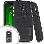 (E01) MOTO G7 PLAY DELUX BRUSHED - BLACK (RETAIL PACKED)