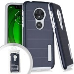 (E01) MOTO G7 PLAY DELUX BRUSHED - BLUE (RETAIL PACKED)
