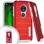 (E01) MOTO G7 PLAY DELUX BRUSHED - RED (RETAIL PACKED)