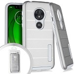 (E01) MOTO G7 PLAY DELUX BRUSHED - SILVER (RETAIL PACKED)