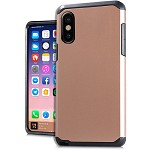 (E01) IPHONE X/XS DUO HYBRID - ROSE GOLD