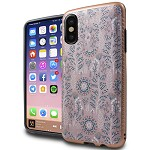 (1-CO) IPHONE X/XS BRUSHED METAL IMAGE - DANDELION PINK