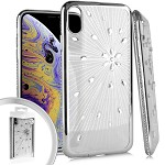(E01) IPHONE X/XS SPARKLE RADIANT - SILVER (RETAIL PACKED)