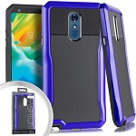 (E01) LG STYLO 4 STRYKER CASE - BLUE (RETAIL PACKED)