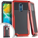 (E01) LG STYLO 4 STRYKER CASE - RED (RETAIL PACKED)
