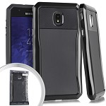 (E01) SAMSUNG GALAXY J7 (2018) STRYKER CASE - BLACK (RETAIL PACKED)