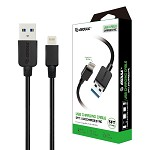 (E02) ESOULK EC30P 5FT FASTER SPEED CHARGING CABLE FOR IOS-BLACK