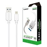 (E02) ESOULK EC30P 5FT FASTER SPEED CHARGING CABLE FOR IOS-WHITE