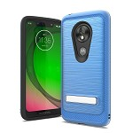 (F01) MOTO G7 PLAY BRUSHED METAL STAND - BLUE