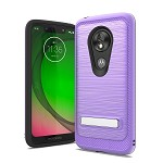 (F01) MOTO G7 PLAY BRUSHED METAL STAND - PURPLE