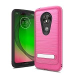 (F01) MOTO G7 PLAY BRUSHED METAL STAND - PINK