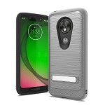 (F01) MOTO G7 PLAY BRUSHED METAL STAND - GRAY