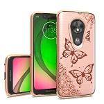(F01) MOTO G7 PLAY  BRUSHED CHROME IMAGE - DESIGN #1