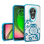 (F01) MOTO G7 PLAY  BRUSHED CHROME IMAGE - DESIGN #2