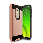 (F01) MOTO G7 PLAY BRUSHED METAL - ROSE GOLD