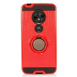 (F01) MOTO G7 PLAY METAL RING STAND - RED