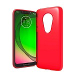 (F01) MOTO G7 PLAY TPU - RED