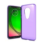 (F01) MOTO G7 PLAY TPU - PURPLE