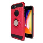 (2F) IPHONE 7 PLUS / 8 PLUS METAL RING STAND - RED