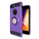 (2F) IPHONE 7 PLUS / 8 PLUS METAL RING STAND - PURPLE