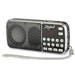 (MA) PORTABLE MULTI FUNCTION MP3 FM/AM H1-AM SPEAKER - BLACK