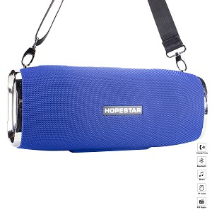 (01-KH) BLUETOOTH SPEAKER TUBE WITH STRAP - BLUE