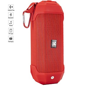 (01-KH) BLUETOOTH SPEAKER PORTABLE R15 - RED