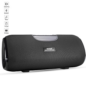 (01-KH) BLUETOOTH SPEAKER PORTABLE WS2909 - BLACK