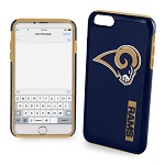 (D01) LICENSED TEAM IPHONE 6/6S IMPACT DUAL HYBRID - LOS ANGELES RAMS