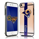 (D01) LICENSED TEAM IPHONE 7 / 8 HYDROCLEAR - LOS ANGELES RAMS