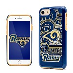 (D01) LICENSED TEAM IPHONE 7 / 8 IMPACT DUAL HYBRID - LOS ANGELES RAMS