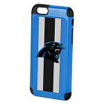 (D01) LICENSED TEAM IPHONE 6/6S DUAL HYBRID 2-PIECE - CAROLINA PANTHERS