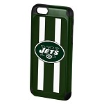(D01) LICENSED TEAM IPHONE 6/6S DUAL HYBRID 2-PIECE - NEW YORK JETS
